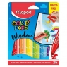 Flamastry do szyb Colorpeps Window 5 kolorów MAPED