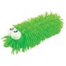 Gniotek robak z dużymi oczami zielony