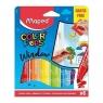 Flamastry do szyb Maped Colorpeps Window, 5 kolorów (844820)