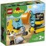 Lego Duplo: Ciężarówka i koparka gąsienicowa (10931)