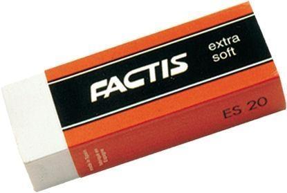 Gumki ES-20 Extra Soft (20szt) FACTIS