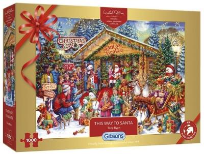 Puzzle 1000 Spotkanie ze Świętym Mikołajem G3