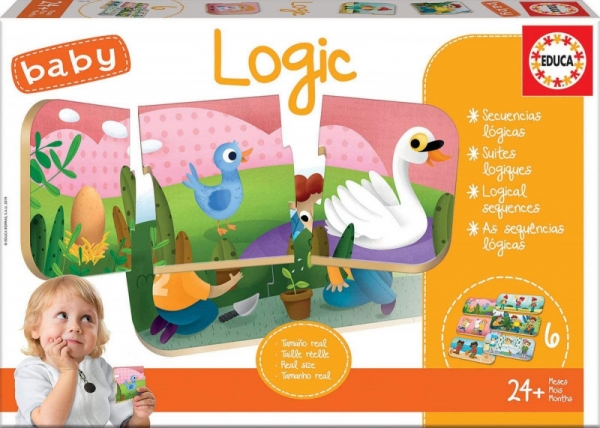 Puzzle Baby gra logika (18120)