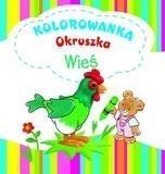 Wieś Kolorowanka Okruszka Wiśniewska Anna