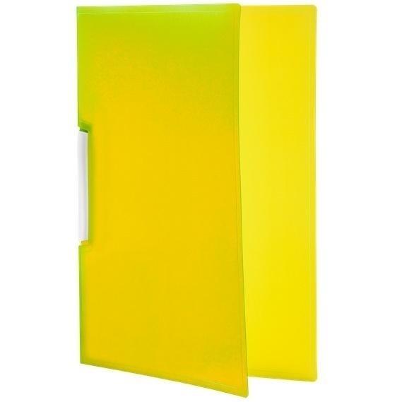 Skoroszyt Tetis PP zaciskowy A4, 12 szt. - żółty (BT620-Y)