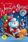 Hej Święta... Wesołych Świąt, kolorowanka z naklejkami
