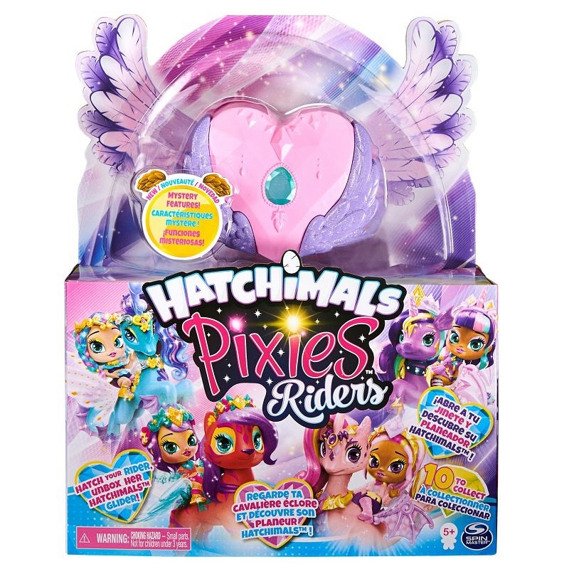 Hatchimals Pixies Riders: Wróżka Magical Madison i Butterpuff Glider (6058551/20127516)