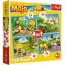 Puzzle 4w1: Przygody pszczółki Mai (34320)