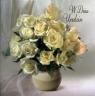 Karnet Quadro Imieniny kwiaty mix wzorów