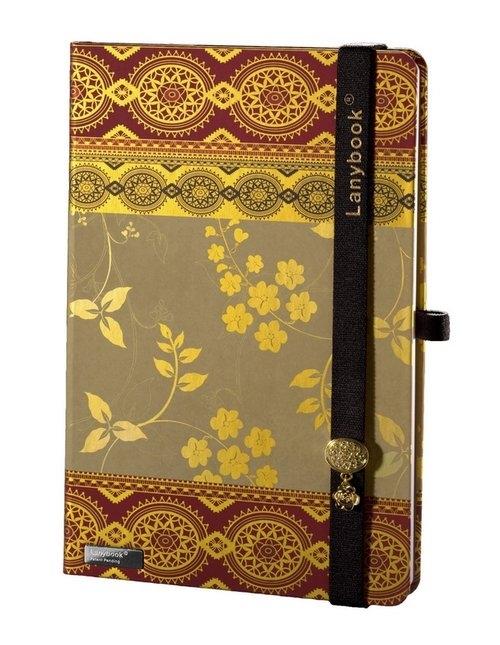 Notes A5 Lanybook Oriental Dream w linie bordo