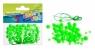 Ozdoba dekoracyjna koraliki zielone 80el