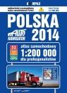 Polska 2014 Atlas samochodowy dla profesjonalistów 1:200 000