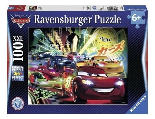 Puzzle 100 XXL Auta Neon (105205)