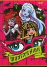 Zeszyt A5 Monster High w trzy linie 16 stron oczy