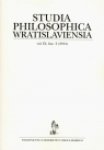Studia philosophica wratislaviensia 2/2014