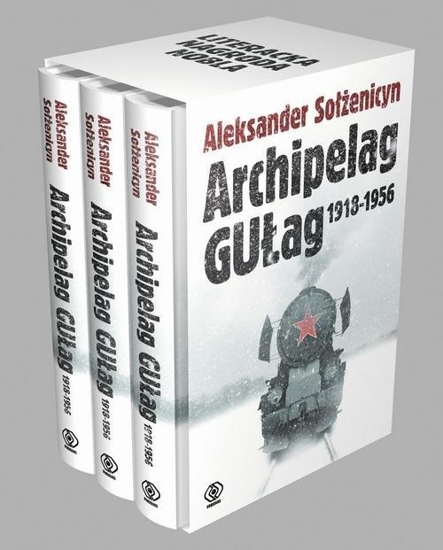 Archipelag Gułag Tom 1-3 Sołżenicyn Aleksander