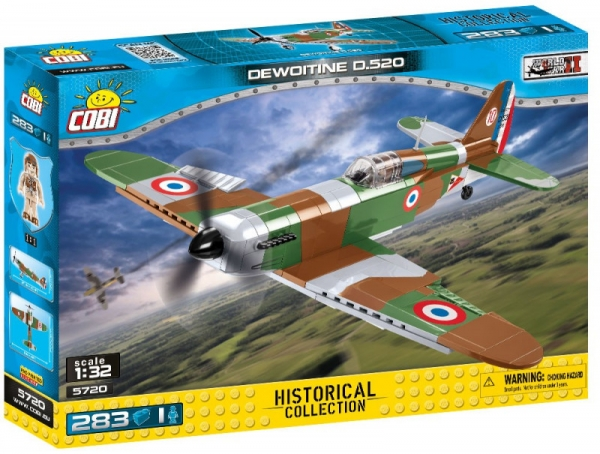 Historical Collection WWII Dewoitine D.520C 1 (5720)