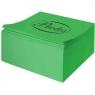 Kostka kolor nieklejona zielona do origami