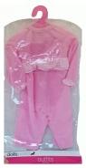 Ubranko deluxe różowe falbanki