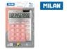 Kalkulator Milan 10 pozycyjny Silver duże klawisze, róż 159906SLPBL