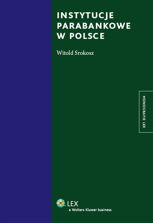 Instytucje parabankowe Srokosz Witold