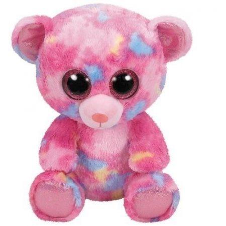 Maskotka Beanie Boos: Franky - kolorowy miś 24 cm (36420)