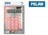 Kalkulator z dużymi klawiszami Milan Silver - Różowy (159906SLPBL)