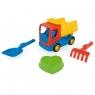 Tech Truck auta budowlane z akcesoriami do piasku (70420)