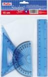 Zestaw geometryczny 4 elementy 15 cm (17206PTR)