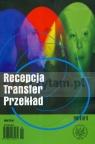 Recepcja Transfer Przekład Tom 6