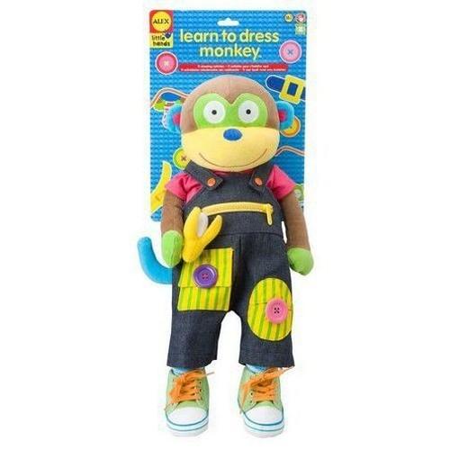 Zabawka do ubierania Małpka