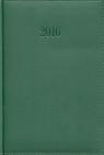 Kalendarz 2016 Książkowy dzienny A5 Lux zielony