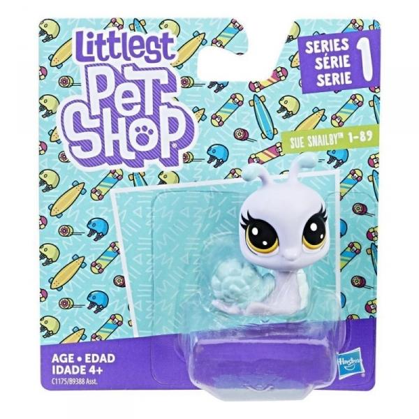 Littlest Pet Shop, Figurki podstawowe, Snail (B9388/C1175)