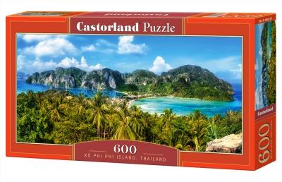 Puzzle Ko Phi Phi Island, Thailand 600 (B-060207)