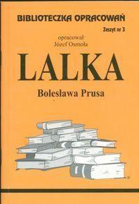 Biblioteczka Opracowań Lalka Bolesława Prusa Osmoła Józef