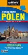 Polen. Autokarte mapa 1:650 000