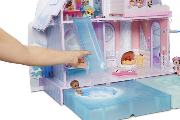 LOL Surprise! Winter Disco Chalet - Domek dla lalek (562207)