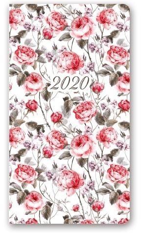 Kalendarz 2020 Tygodniowy A6 Soft Kwiaty 11TS