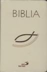 Biblia z suwakiem ecru