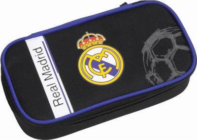 Piórnik kompaktowy z organizerem Real Madrid