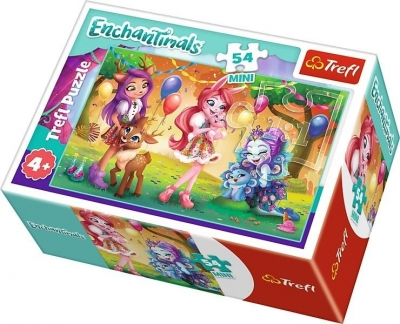 Puzzle mini 54: Wesoły dzień Enchantimals 4 (54167)