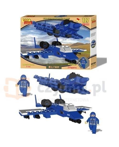 Klocki Best Lock Military Samoloty 124 elementy