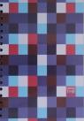 Kołobrulion B5 160 kartek z perforacją i kolorowymi registrami (603820)