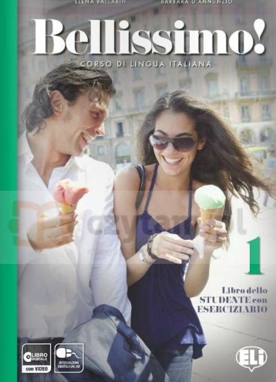Bellissimo! 1 podręcznik z ćwiczeniami +CD Elena Ballarin