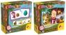 Pierwsze puzzle: Masza i Niedźwiedź (304-78004)mix wzorów, Wiek: 2+