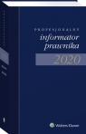 Profesjonalny Informator Prawnika 2020, granatowy format zbliżony do A5