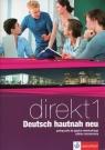 Direkt 1 Deutsch hautnah neu Podręcznik z płytą CD Zakres rozszerzony