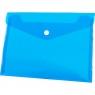 Teczka/koperta plastikowa na guzik Tetis A5 - niebieska (BT610-N)