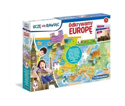 Puzzle 104: Uczę się Bawiąc, Odkrywamy Europę (50020)