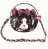 Cekinowa torba na ramię - Kot